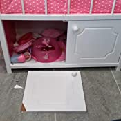 Speelgoed GL315 Puppenm/öbel Puppenbett mit Musik