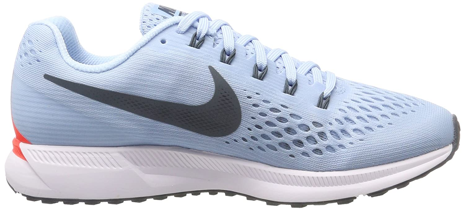 Amazon.com | Nike Womens WMNS Air Zoom Pegasus 34, ICE Blue/Blue Fox, 5.5 M US | Road Running