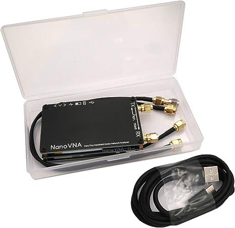 Mcbazel Surecom NanoVNA-H 50KHz~1.5GHz VNA 2.8inch LCD HF VHF UHF UV Vector Network Analyzer: Amazon.es: Electrónica
