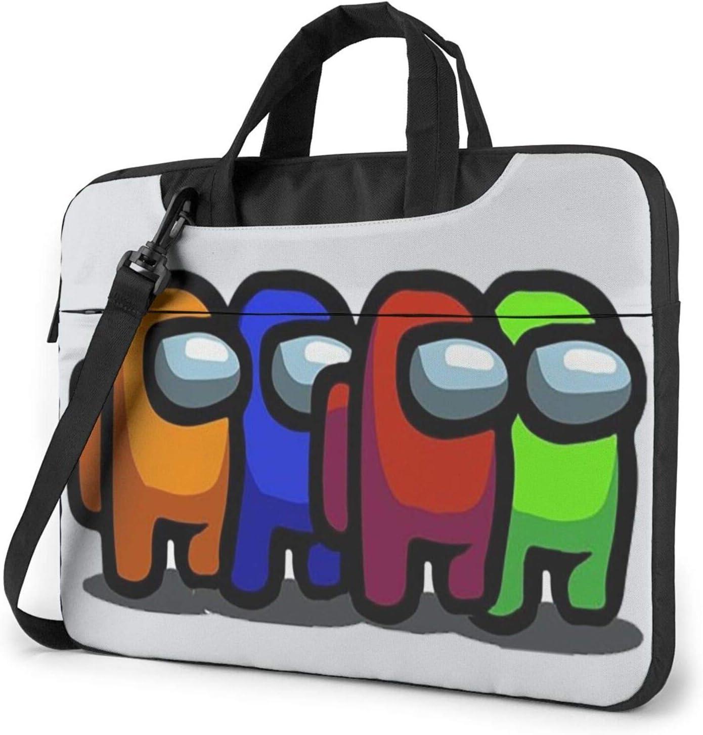 IMOBABY Caribou Laptop Bag Canvas Messenger Shoulder Bag Briefcase Fits 15-15.4 inch