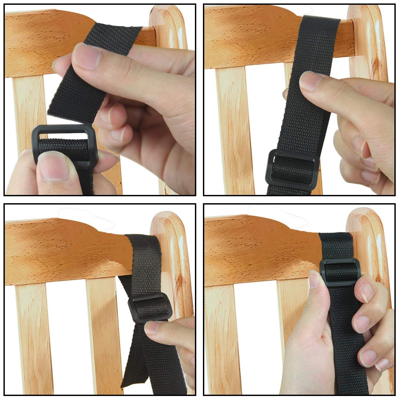 5 Puntos Arneses De Seguridad Para Ni/ños Arneses Para Bebes Cintur/ón De Seguridad Para Cochecito Carro Silla color : A