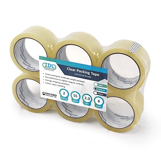 Amazon.com: Idl embalaje c-1216 – 55 – 2 Concord Premium ...