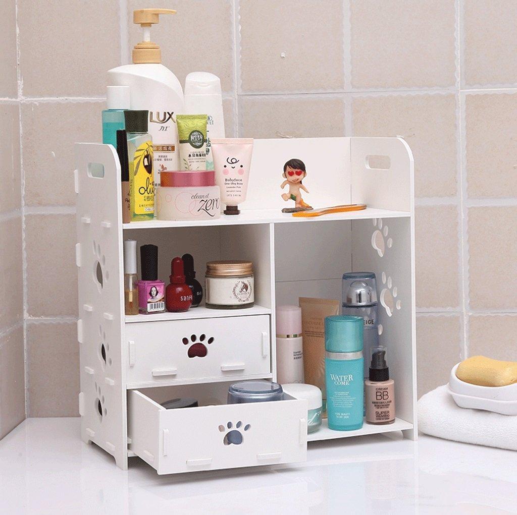 シェルフトイレ洗面台セットストレージボックスwashpieceアイテムシェルフバスルームデスクトップ多機能シェルフ B0711Y1H1F