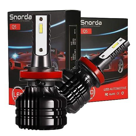 Light Bulbs Beautiful 2pcs 40w 6000k Cool White H3 High Power Led Headlight Bulbs Light Conversion Kit