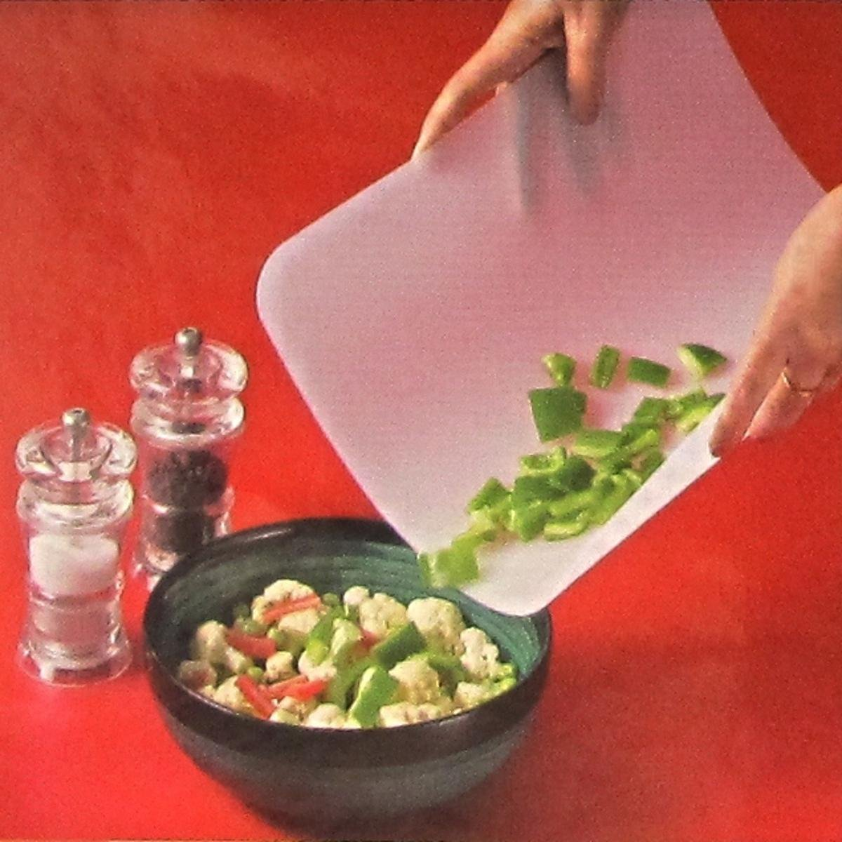 The item for sale is premier set of 5 coloured flexible chopping - Large 37x29cm Flexible Chopping Mat Board Amazon Co Uk Kitchen Home
