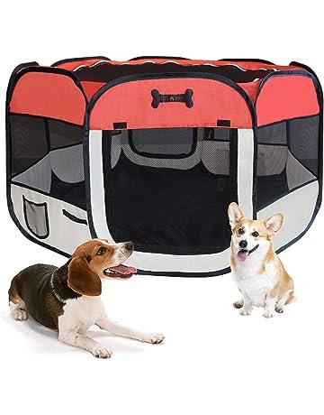 MC Star Parque Parque Cachorro Animales plástico portátil para Perros, Gatos, Conejos y pequeño