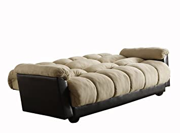 Amazing Amazon.com: Homelegance 4802MFR Piper Convertible/Adjustable Sofa With Bed,  Microfiber And Bi Cast Vinyl: Kitchen U0026 Dining