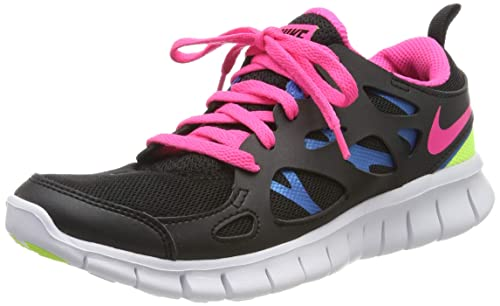 Solenoide prometedor balsa  Nike Girls' Free Run 2 (Gs) Running Shoes: Amazon.co.uk: Shoes & Bags