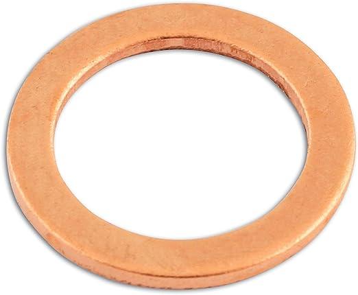 Cobre, M10 x 14 x 1 mm Arandela de Sellado Connect 31830