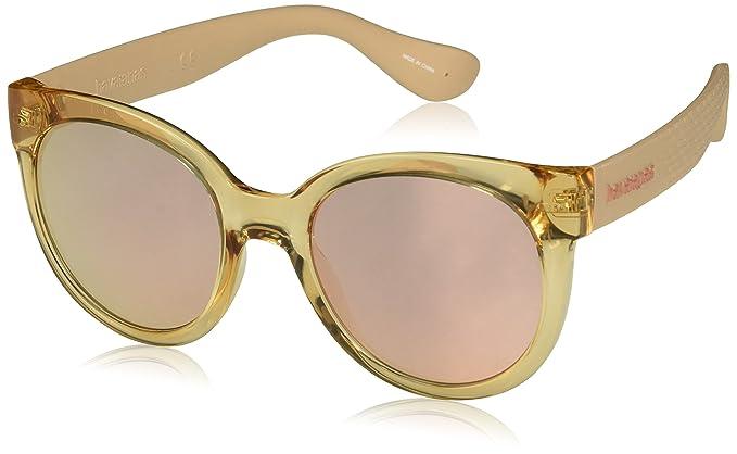 Havaianas Sunglasses Noronha/M, Gafas de Sol Unisex Adulto, Multicolor (Salmon)
