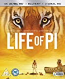 Life of Pi [4K Ultra HD Blu-ray + Digital Copy + UV Copy] [2013]