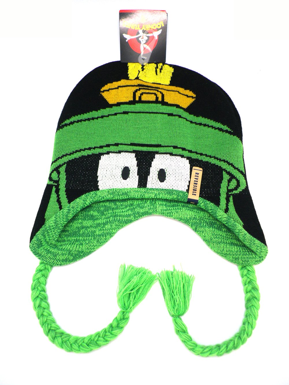 amazon com reversable marvin the martian peruvian beanie winter