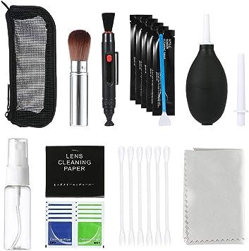 OOOUSE - Kit de Limpieza Profesional para cámaras réflex Digitales ...