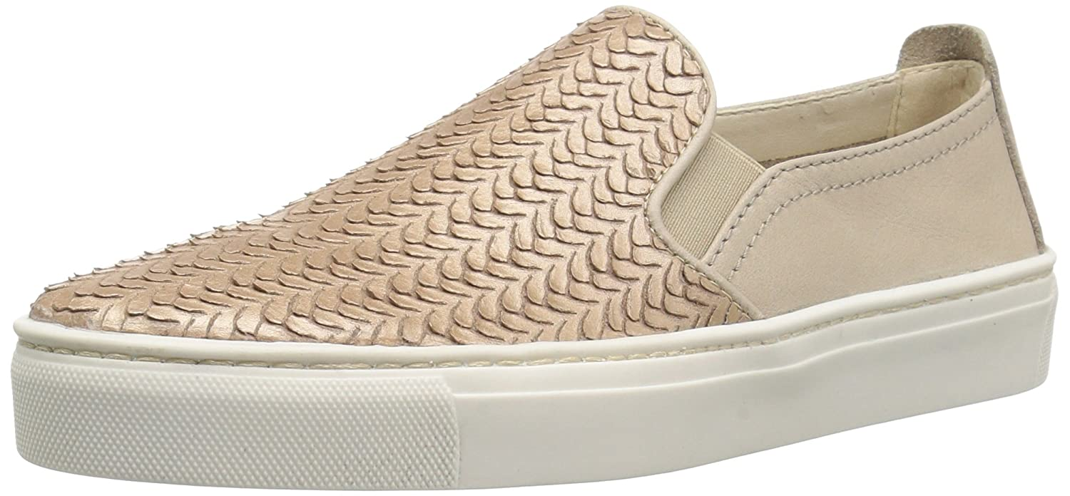 The FLEXX Women's Sneak Name Sneaker B075KGBN5V 9.5 B(M) US|Gold/Dune Mirage/Vacchetta