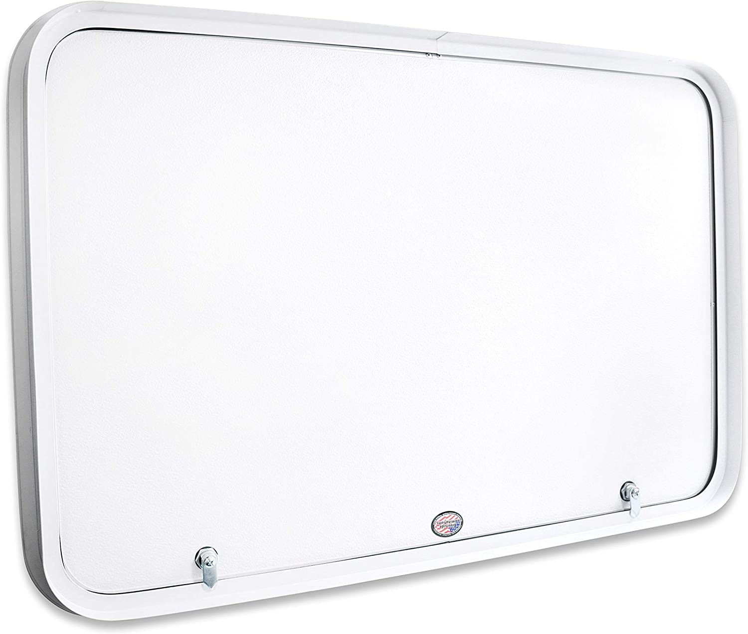 Compartment Access Storage Doors with Top Hinge Leisure Coachworks RV Baggage Door 36 Wide X 24 High with Rounded Corners and Thumblocks for RVs Camper Trailer Motor Home