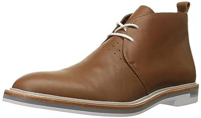 Amazon.com | Calvin Klein Men's Jonas Leather Chukka Boot | Boots