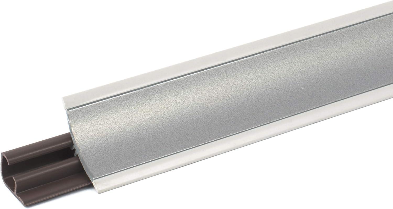 23mm Angle int/érieur pour join de plan de travail PVC Couleur: blanc