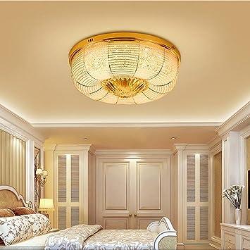 LRW Lumière de chambre à coucher moderne simple, chaud, romantique ...