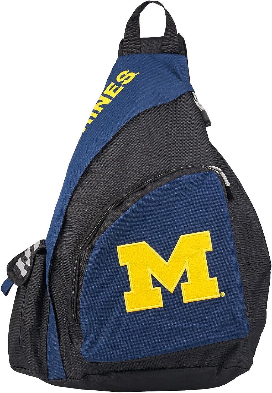 "Officially Licensed NCAA ""Leadoff"" Slingbag, Multi Color, 20"""