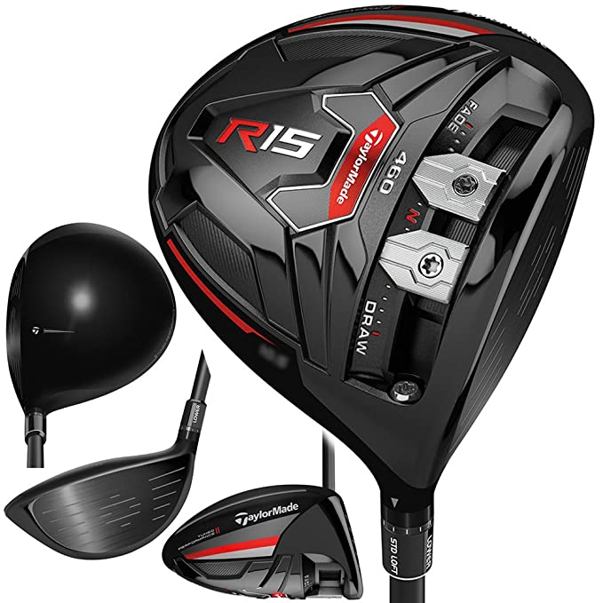 Amazon.com: TaylorMade R15 460 Palo de golf driver color ...
