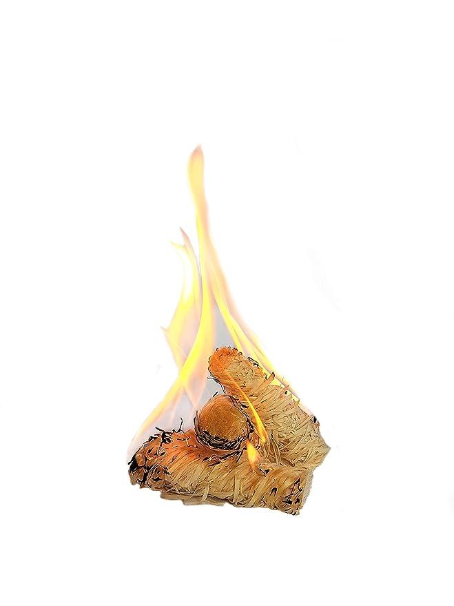 Pastillas - Encendedores de barbacoa Feniks unidades en la caja 500. para chimeneas, estufas, barbacoas y fogatas