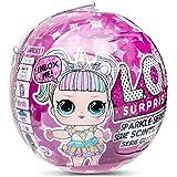 LOL Surprise 560296E7C Poupées Sparkle Série, 7 Surprises, One Random