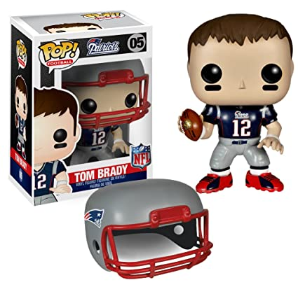 Amazon.com: Funko POP NFL: Wave 1 - Tom Brady Action Figures ...