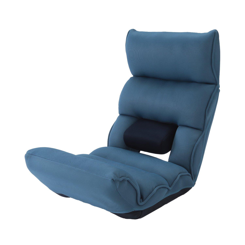 腰の神様がくれた座椅子 DMZ-アロー (ブルー)  明光ホームテック株式会社 B0753XXXSY