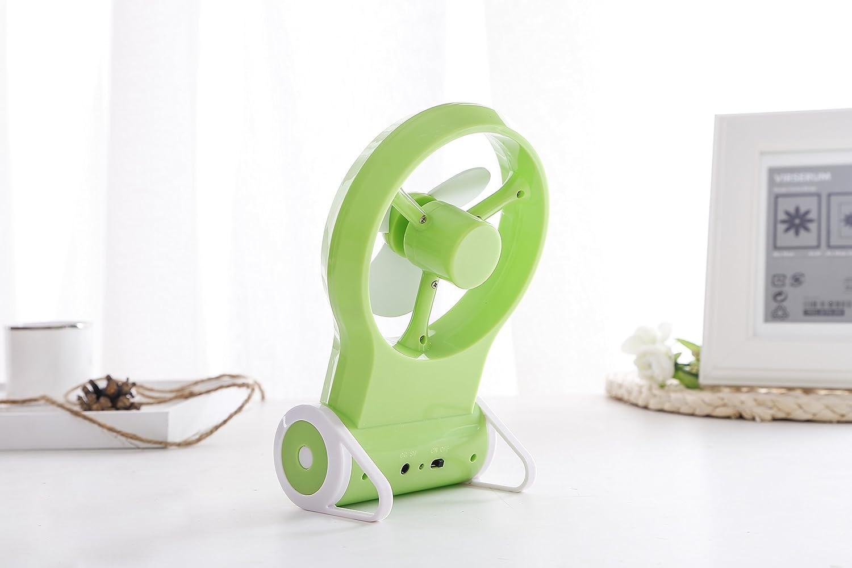 Leisial mini usb portable ventilateur de silence rechargeable