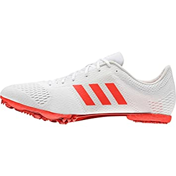 b5b08ae48a6d adidas Adizero Middle Distance Spikes Shoe Ftwr White/Solar Red ...