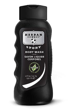 Herban Cowboy Body Wash, Sport, 18 Ounce