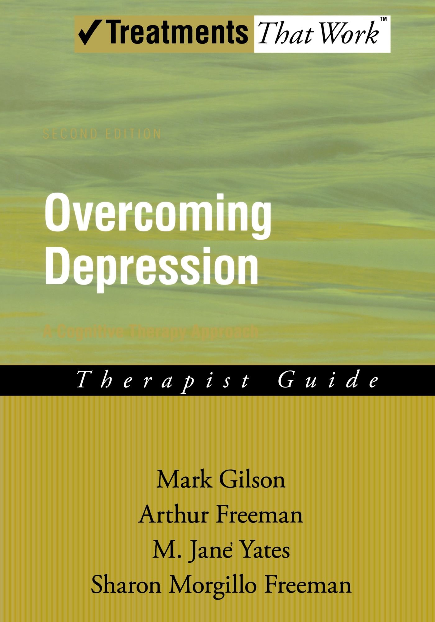 Overcoming depression a cognitive therapy approach therapist guide mark gilson arthur freeman 9780195300000 books amazon ca