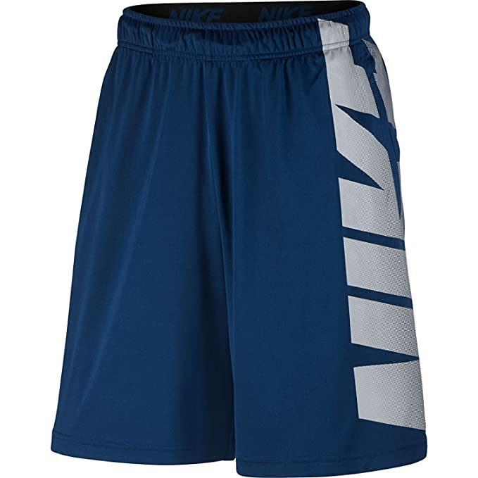 b8001049 Amazon.com: Nike Mens Dri-Fit Block Training Shorts Binary Blue/Dust ...