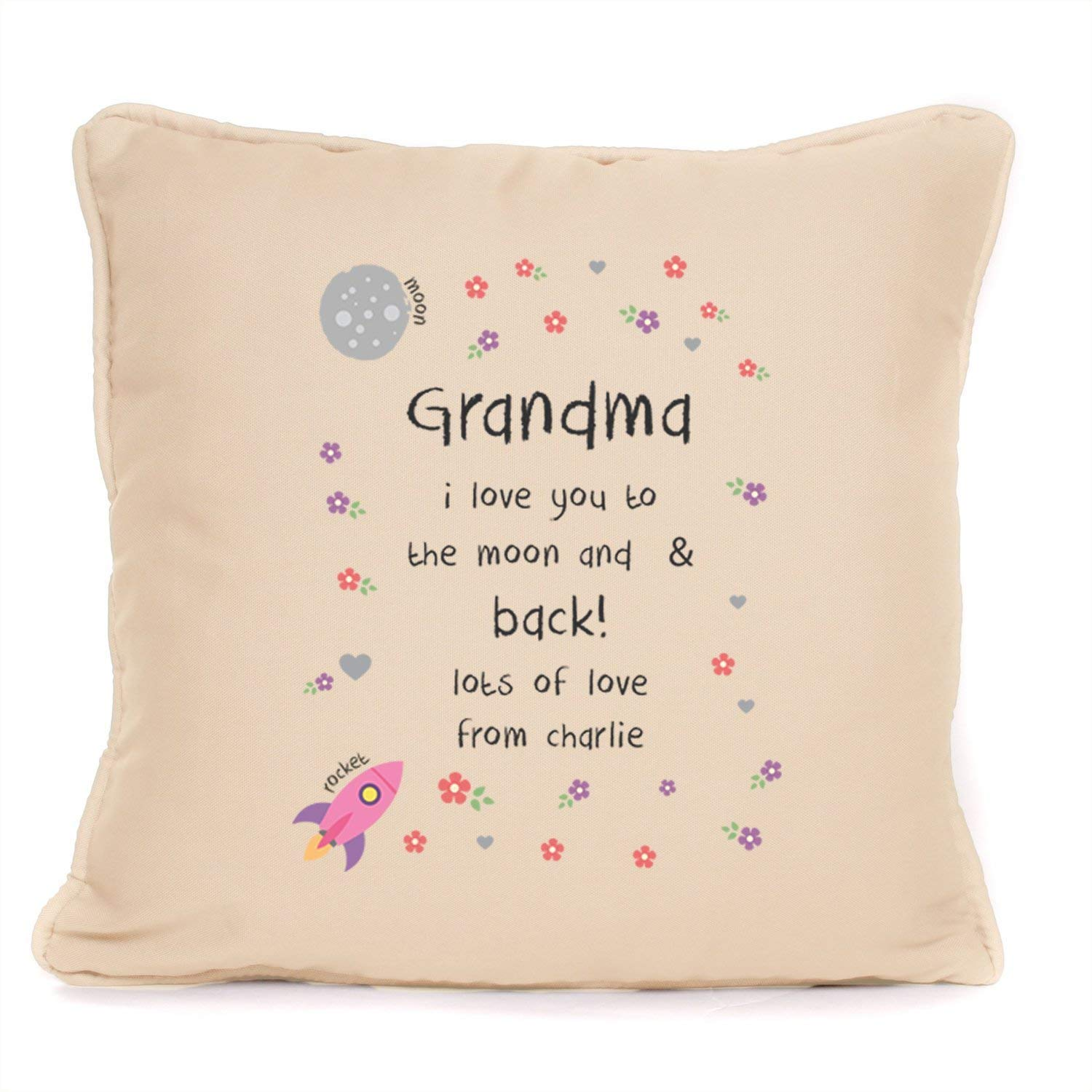 FAMILY CHILDREN QUOTE LOVE PERSONALISED CUSTOM PILLOW CUSHION PRESENT GIFT