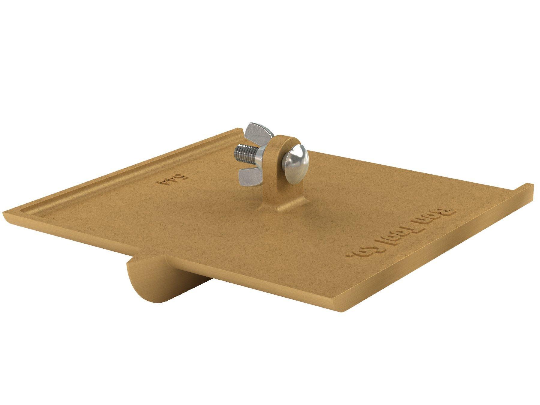 Bon 12-542 3/4-Inch bit Depth by 1/4-Inch Width 8-Inch by 8-Inch Walking Concrete Groover, Bronze
