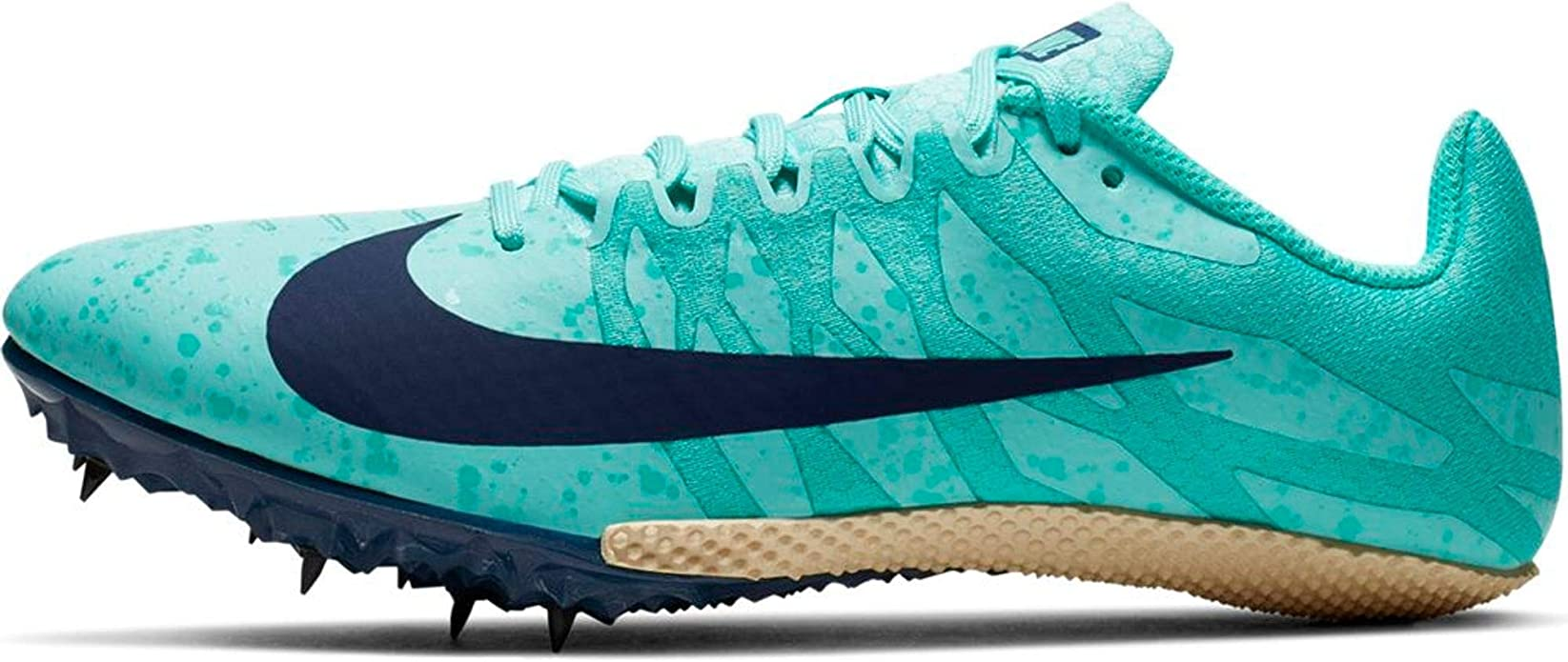 Almeja actualizar fractura  Amazon.com | Nike Women's Zoom Rival S 9 Track and Field Shoes (12,  Blue/Blue) | Track & Field & Cross Country
