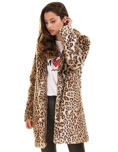 Abrigo estampado leopardo VIMARIAM de Vila Clothes