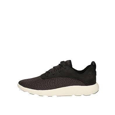 sneakers homme noir cuir timberland