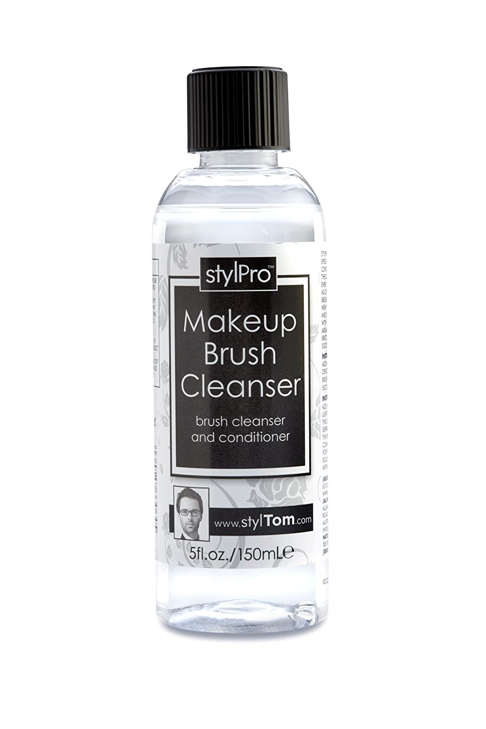 StylPro Makeup Brush Cleanser Solution – 150mL AvenTom