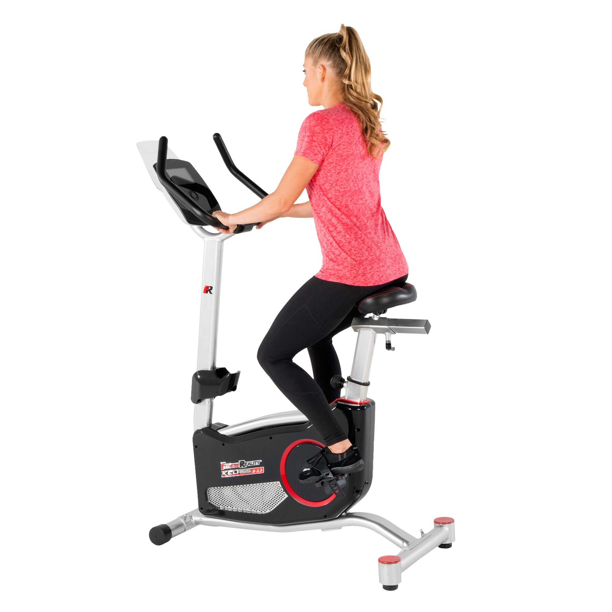 Fitness Reality X Class 310 Bluetooth Smart Technology Upright Exercise Bike with 20 Computer Workout Programs by Fitness Reality
