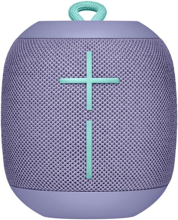Ultimate Ears Wonderboom Altavoz Portátil Inalámbrico Bluetooth, Sonido Envolvente de 360°, Impermeable, Conexión de 2 Altavoces para Sonido Potente, Batería de 10 h, color Lila: Amazon.es: Electrónica