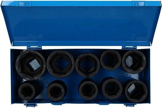 "6 Point Heavy Duty Steel Impact Socket 41mm Deep 1//2/""Sq Drive Hub Nut"