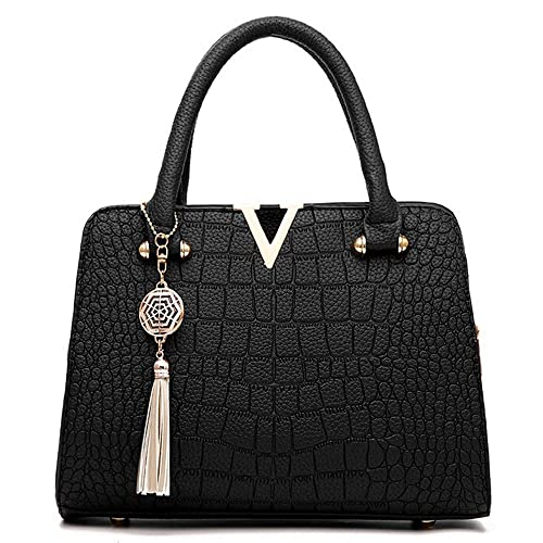 6a7076ec74c Fashion Women Bag! ZOMUSAR Women's Fashion PU Leather Shoulder Bag  Alligator Pattern Ladies Crossbody Handbag
