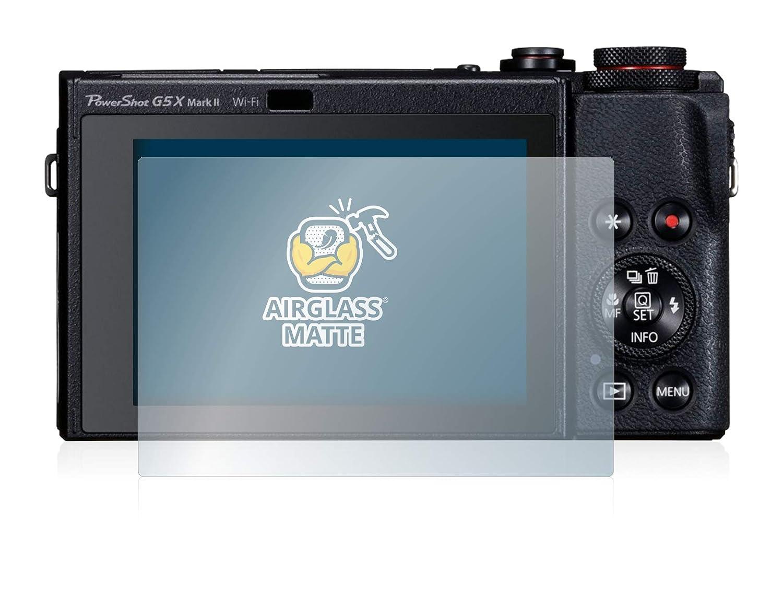 AirGlass BROTECT Protector Pantalla Cristal Mate Compatible con Canon PowerShot G5 X Mark II Protector Pantalla Anti-Reflejos Vidrio