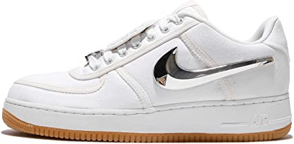 Amazon.com: Nike hombre Air Force 1 bajo Travis Scott, color ...
