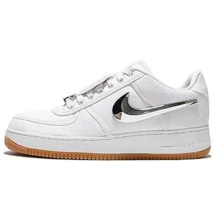 Nike Hombres Air Force  1 Baja Travis Scott Blanco  Force Blanco 34808c