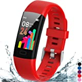 Inspiratek Kids Fitness Tracker for Girls and Boys Age 5-16 (4 Color)- Waterproof Fitness Watch for Kids with Heart Rate Moni