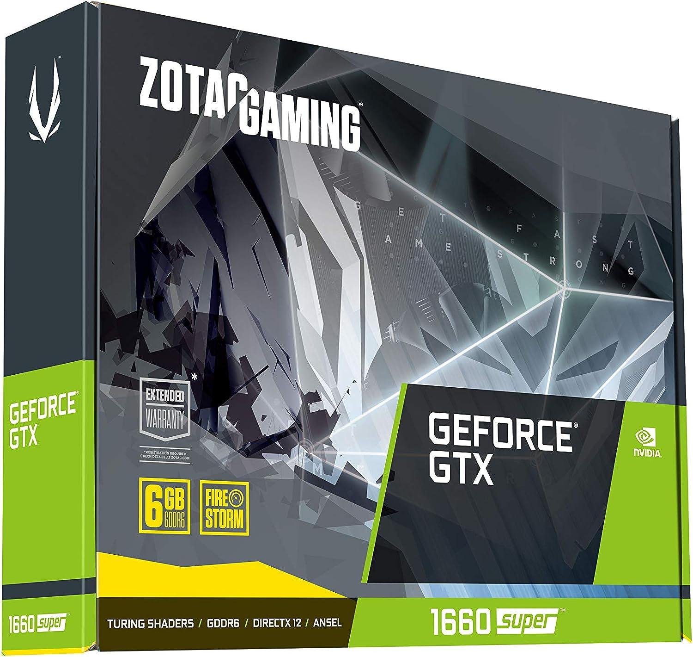 ZOTAC Gaming GeForce GTX - Tarjeta gráfica (GeForce GTX 1660 ...