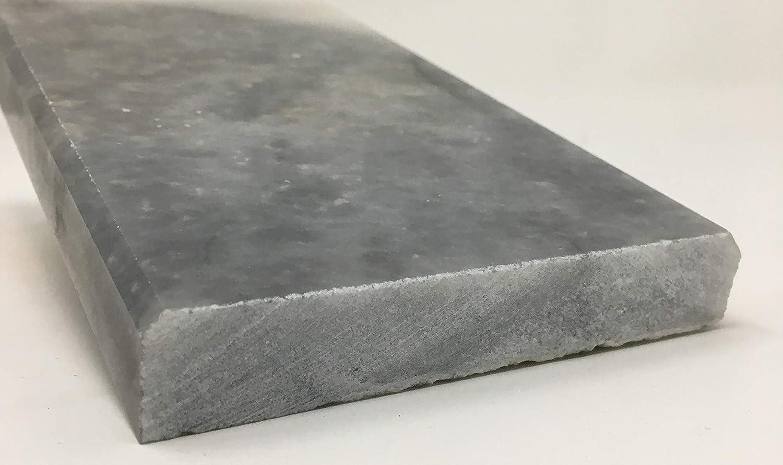 Marble Saddle 6 x 48 - Honed - Vogue Tile Ocean Grey Marble Bardiglio Threshold