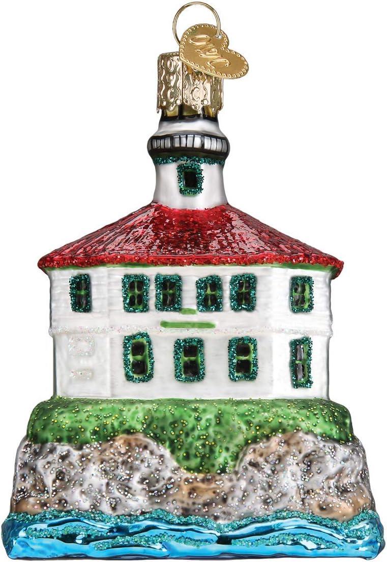 Old World Christmas Eldred Rock Lighthouse